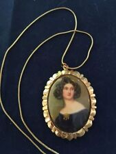 Necklace Gold Plated 18k Vintage & Antique Jewellery