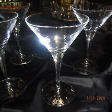 Bormioli Rocco Martini Glasses set of 4  APPROX 3 OZ
