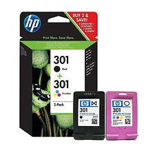 ORIGINALI CARTUCCE HP 301+301 N9J72AE PER HP DeskJet 1510 1514 2000 2050 2050a