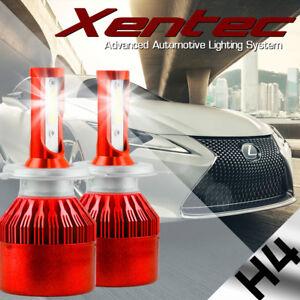 488W 48800LM LED H4 Headlight Kit Hi/Lo Beam HB2 Bulbs 6000K White High Power