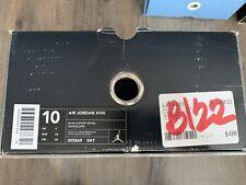 2002 Air Jordan 18 XVIII Black Sport Royal Blue 305869-041 size 10 Box Only