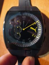 Puma Watch Rubber Bracelet Quartz Movement