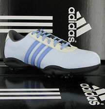 Adidas Drv Isa Laser Imperméable Designer Bleu Femmes Chaussures de Golf Uk4