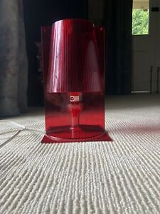 Authentic KARTELL 'TAKE' Lamp Light EXCELLENT CONDITION/ RED
