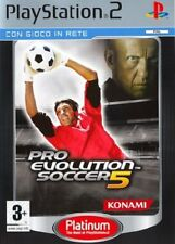 Pro Evolution soccer 5 (platinum) PAL Konami Playstation 2
