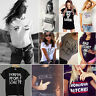 Womens Ladies Casual Blouse Tops 2016 Summer New Cotton Short Sleeve T-Shirt Tee