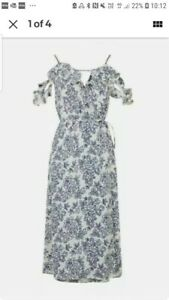 ASOS's Topshop Floral Summer Midi dress sold out style BNWT New Size 12. RRP £46