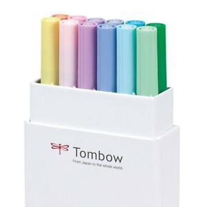 Tombow Dual Brushpens Box 12 Pastel