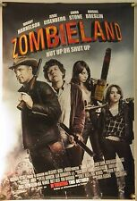 ZOMBIELAND DS ROLLED ORIG 1SH MOVIE POSTER ZOMBIE HORROR COMEDY (2009)