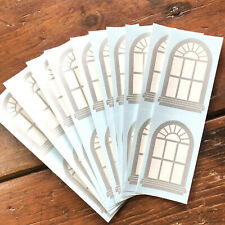 10 sheets Mrs. Grossman's Frosty Window Stickers Christmas Winter Snow Icy Cold