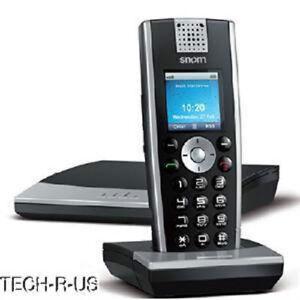 Snom 2640 m9 IP Phone - Wireless VoIP - Caller ID - USB - Lithium Ion (Li-Ion)