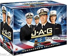 JAG 1-10 (Judge Advocate General) (1995-2005) COMPLETE TV Series - DVD UK not US