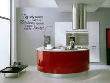 ONLY REASONI HAVE KITCHEN Vinyl Wall Decal Home Decor
