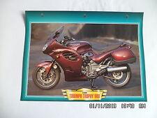 CARTE FICHE MOTO TRIUMPH TROPHY 900   1999