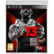WWE 13: LIMITÉ MIKE TYSON ÉDITION PS3 NEUF ET SCELLÉ
