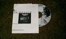 Seasick Bestie Mensch Raro Promo / Lettera / Bio Foglio & CD Hardcore Punk