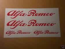 Alfa Romeo Aufkleber Set Mito Giulietta Sticker Bomb Tuning Rennsport Kult NEU