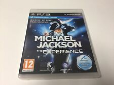 PS3 GAME MICHAEL JACKSON THE EXPERIENCE