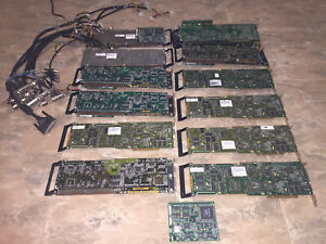 Matrox BroadcastVideo Edition cards lot (Analog & SDI)