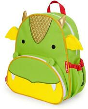 Skip Hop ZOO LITTLE KID BACK PACK - DRAGON Toddler Rucksack Bag - NEW