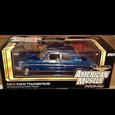 1964 Ford Fairlane Thunderbolt BLUE 1:18 Auto World 944