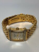 Anne Klein Ladies Watch Quartz Stainless Steel Gold Tone - Working