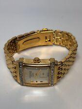 Anne Klein Ladies Watch Quartz Stainless Steel Gold Tone - Working
