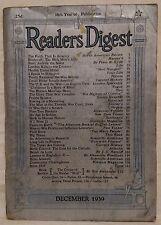December 1939 Reader's Digest!!!