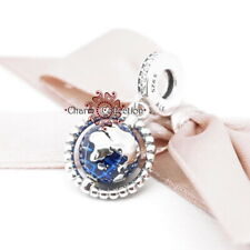 Pandora, Spinning Globe, World, Travel, Pendant Charm, S925, NEW, 798021CZ