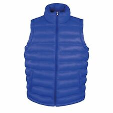 Result Ski Snow Quilted Padded Body Warmer Gilet - Wind and Showerproof L Blue