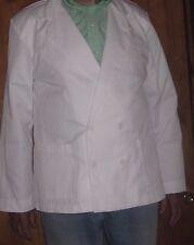 2 Chefs Jacket Coat Univogue Unisex size 50 White