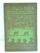 1929 Boy Scouts America Rally Book Contest Camp-o-Rals Rallies Demonstrations