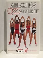 AEROBICS OZ STYLE III / 3 ~ RARE VHS VIDEO