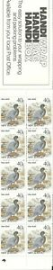 Pack of 10 New Zealand $.40 Stamps in a booklet 1987 - Mint Condition