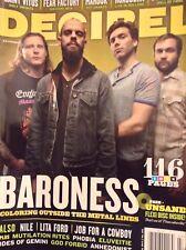 Decibel Magazine Barones Nile Lita Ford July 2012  121617nonrh