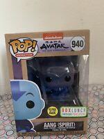 Funko Pop! Avatar The Last Airbender Spirit Aang BoxLunch GITD Glow SHIPS TODAY