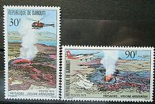 Djibouti 1979 Ardoukoba Volcano Set UM. SG 755/6.