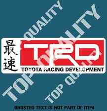 TRD Decal Sticker Retro Vintage JDM DRIFT TOYOTA RALLY DRIFT DECALS STICKERS