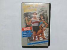 Betamax Tape Movie Shape Up with Arnold Schwarzenegger VERY RARE 6Gx2