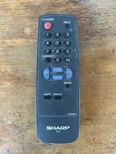 New listing Sharp G1324Sa Tv Remote Control, Tested Batteries Not Included!
