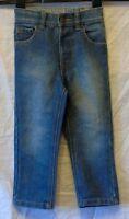 Boys George Blue Denim Adjustable Elasticated Waist Classic Jeans Age 2-3 Years