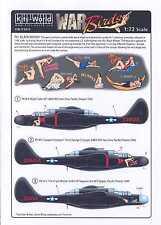 Kits World Decals 1/72 NORTHROP P-61 BLACK WIDOW