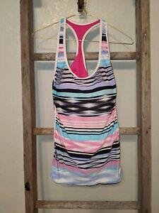 7X Swim Women's Swimsuit Top~Tank Size 10 Multicolored