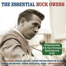 Buck Owens - The Essential [The Best Of / Greatest Hits] 2CD NEW/SEALED