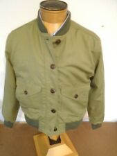 Filson Women's Linen & Cotton Libby Bomber Jacket NWT Large $265 Made in USA