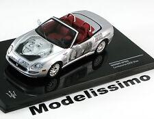 1:43 Ixo Maserati Spyder Cambiocorsa Albert Einstein 2002 silver