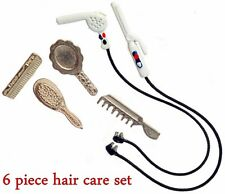 Dollhouse Miniature Hair Dryer and Curling Iron Set with Cords ~ N1180