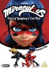 Miraculous Tales of Ladybug & Cat Noir Season 1 Vol 1 2 3 4 And Region 4 DVD