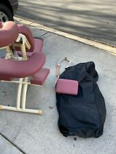 Oakworks Portal Pro Massage Chair and Carry Case in good condition