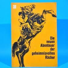 """2219 Film Für Sie 65/1969 DDR """"Die neuen Abenteuer der geheimnisvollen Rächer"""""""
